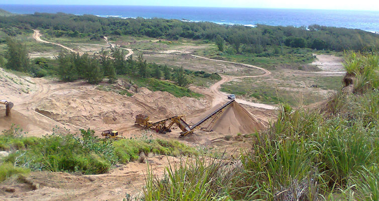 Walkers Sand Quarry